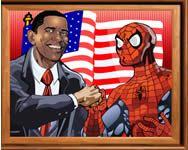 Sort my tiles Obama and Spiderman j�t�k