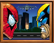 Sort my tiles Spider and Wolverine j�t�k