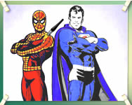 Spidey and superman j�t�k